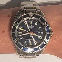 Citizen Promaster Marine Steel 45mm Blue No numerals