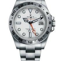 Rolex Explorer II Steel 42mm White No numerals United Kingdom, Edinburgh