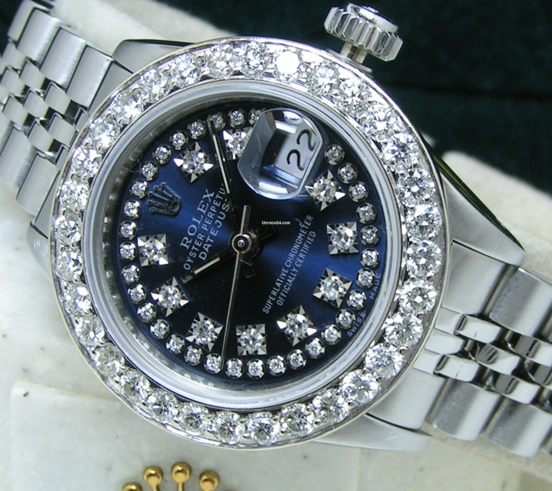 Rolex Oyster Perpetual Lady Date 69160 1992 pre-owned