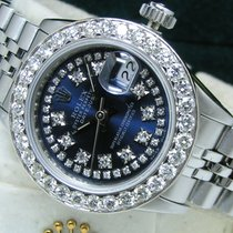 Rolex Oyster Perpetual Lady Date Steel 26mm Blue Roman numerals United States of America, Pennsylvania, HARRISBURG
