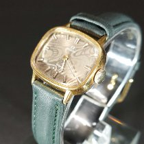 Omega Genève Gold/Steel 24mm Brown United States of America, New Jersey, Atlantic city