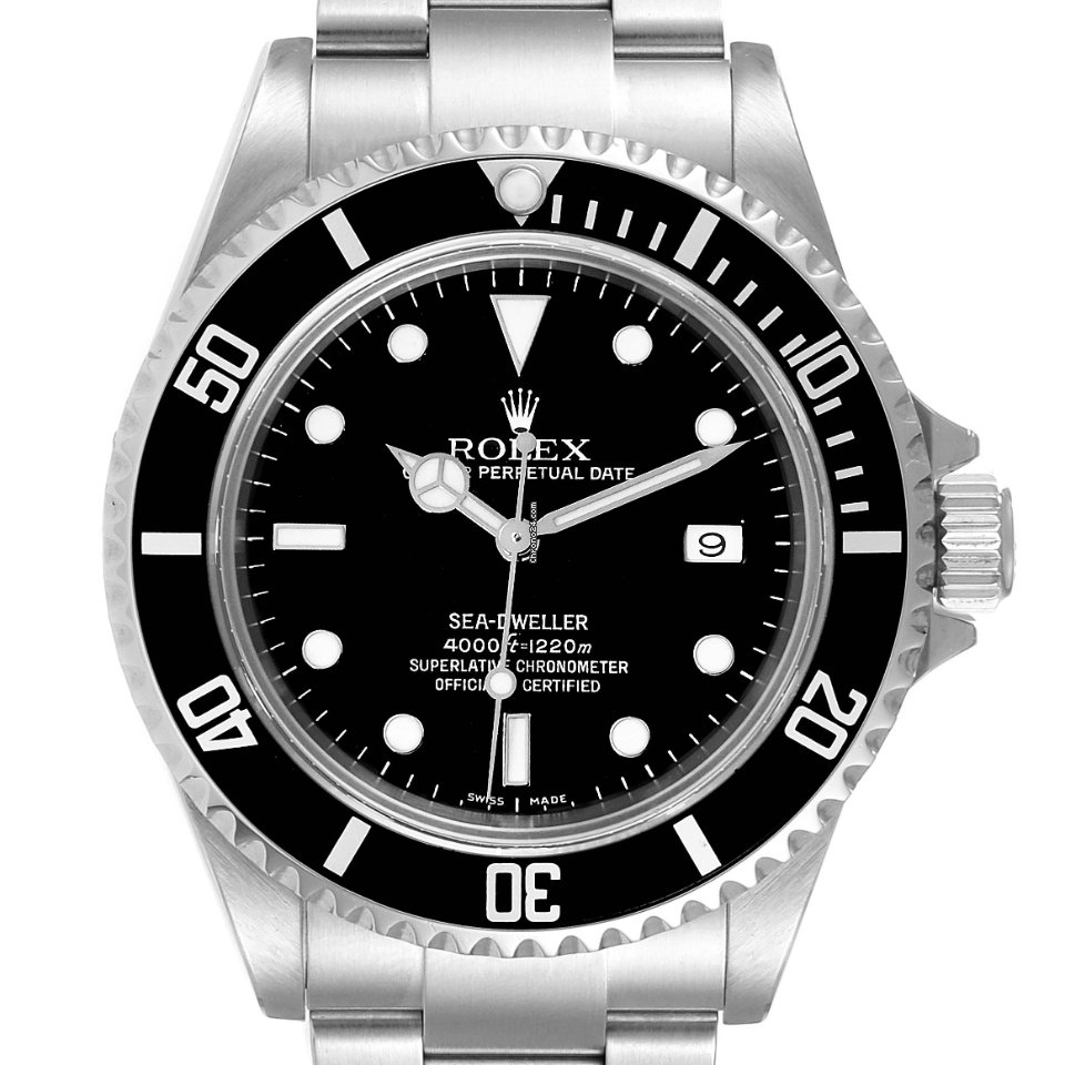 Rolex Sea-Dweller 4000 16600 2007 подержанные
