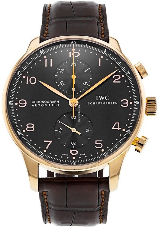 IWC Portuguese Chronograph iw371415 pre-owned