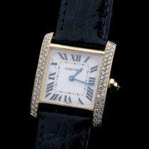 Cartier Tank Française neu 2015 Quarz Uhr mit Original-Box und Original-Papieren 1821
