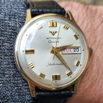 Wittnauer Yellow gold Automatic Champagne No numerals 35mm pre-owned