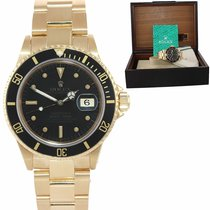 Rolex Parts/Accessories Men's watch/Unisex 304006634710 pre-owned Yellow gold Gold Submariner