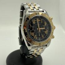 Breitling Chronomat Evolution Zlato/Ocel 44mm Černá Římské