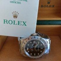 Rolex Explorer II Stahl 40mm Schwarz Keine Ziffern Schweiz, Lausanne