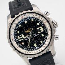 Breitling Chronospace Steel 48mm Black Arabic numerals