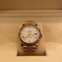 Rolex Day-Date 40 Rose gold 40mm White Roman numerals UAE, Dubai