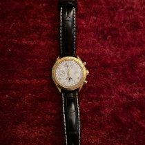 Omega Speedmaster Professional Moonwatch Moonphase Gold/Stahl 39mm Weiß Schweiz, Versoix