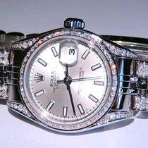 Rolex Lady-Datejust Сталь 26mm Cеребро Без цифр