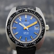 Certina DS-2 Сталь 40mm Синий