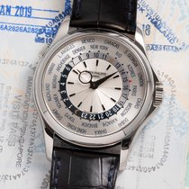 Patek Philippe White gold Automatic World Time pre-owned Malaysia