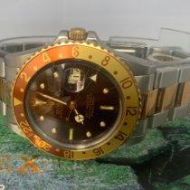 Rolex GMT-Master 16753 Gut Gold/Stahl 40mm Automatik