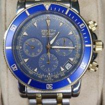 Zenith El Primero Chronograph Acero y oro Azul