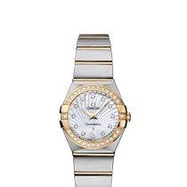 Omega Constellation Quartz new Quartz Watch with original box and original papers 123.25.24.60.55.004