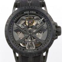 Roger Dubuis Excalibur Титан 45mm Черный Без цифр