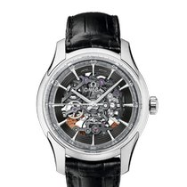 Omega De Ville Hour Vision Platinum 41mm Silver Arabic numerals