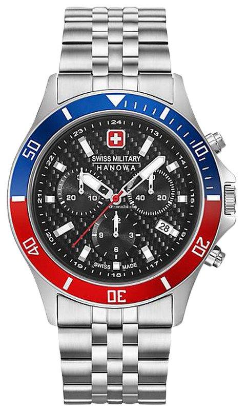 Swiss Military Hanowa Flagship 06-5337.04.007.34 new