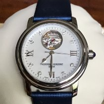 Frederique Constant Ladies Automatic Heart Beat Steel 34mm Mother of pearl No numerals