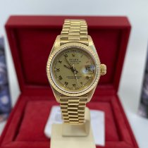 Rolex Lady-Datejust 69178 Bardzo dobry Żółte złoto 26mm Automatyczny