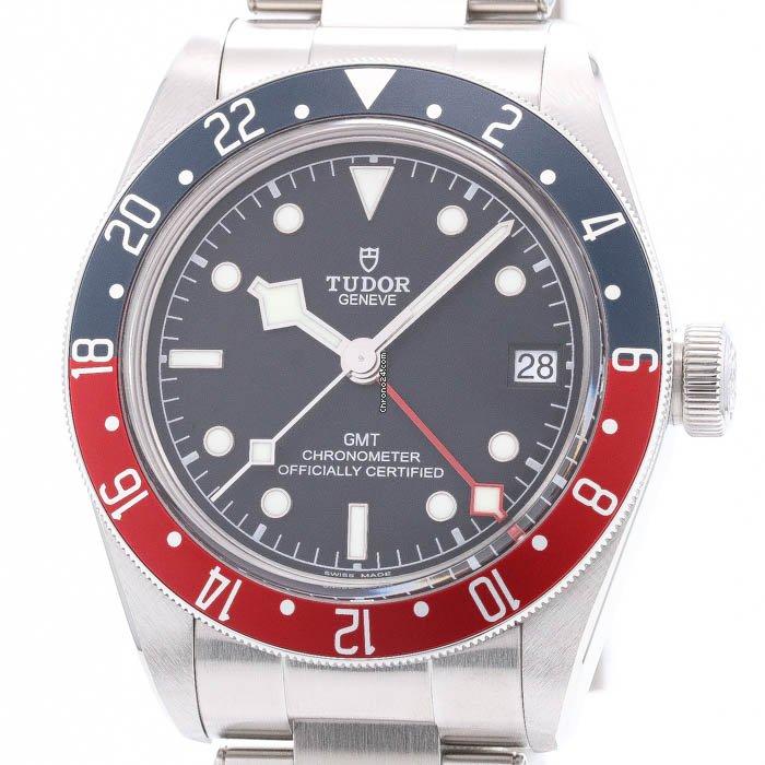 Tudor Black Bay GMT 79830RB pre-owned