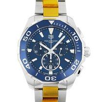 TAG Heuer Aquaracer 300M новые Кварцевые Хронограф Часы с оригинальными документами и коробкой CAY111B.BA0927