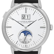 A. Lange & Söhne 384.026 White gold 2017 Saxonia 40mm pre-owned