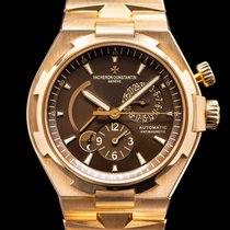 Vacheron Constantin new Automatic Luminous numerals Limited Edition Screw-Down Crown 42mm Rose gold Sapphire crystal