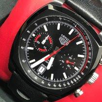 TAG Heuer Monza Titanium 42mm Black No numerals