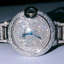 Cartier Ballon Bleu 33mm Сталь 33mm Cеребро Римские