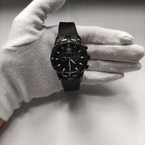 Edox Grand Ocean Steel 42mm Black No numerals