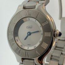 Cartier 21 Must de Cartier Steel Silver United States of America, New Jersey, Fair Lawn