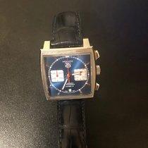 TAG Heuer Monaco Calibre 12 Steel 39mm Blue No numerals United States of America, Texas, SAN ANTONIO