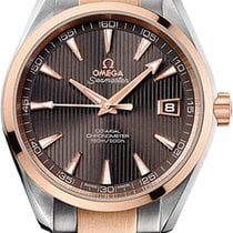 Omega 231.20.42.21.06.001 Or/Acier 2011 Seamaster Aqua Terra occasion