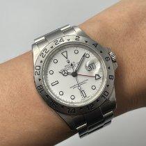 Rolex Explorer II Steel 40mm White No numerals Malaysia