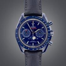 Omega 304.93.44.52.03.001 Keramiek 2019 Speedmaster Professional Moonwatch Moonphase 44.25mm nieuw