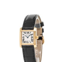 Cartier Tank Française Yellow gold 20mm Silver Roman numerals United States of America, New York, Hartsdale