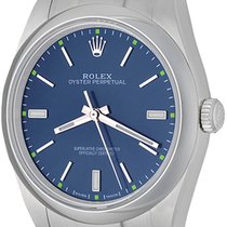 Rolex Oyster Perpetual 39 Steel 34mm Blue No numerals United States of America, Texas, Dallas
