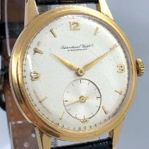 IWC Yellow gold 37mm Manual winding pre-owned
