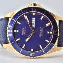 Mido Ocean Star Stal 42,5mm Niebieski Bez cyfr