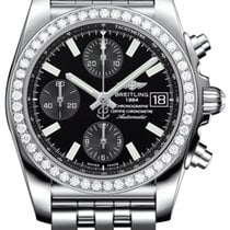 Breitling Chronomat 38 Steel 38mm Black No numerals United States of America, New Jersey, Princeton