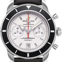 Breitling Superocean Heritage Chronograph Steel 44mm Silver No numerals United States of America, New Jersey, Princeton