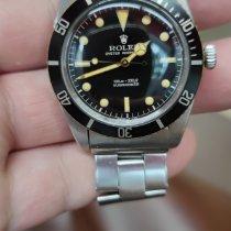 勞力士 Submariner (No Date) 5508 好 鋼 37mm 自動發條 香港