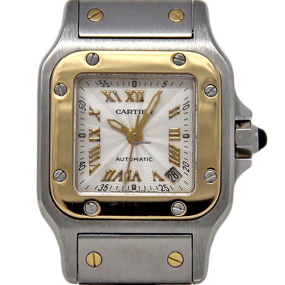 Cartier Santos Galbée 2423 1991 pre-owned