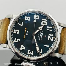 Zenith Steel 45mm Automatic 03.2430.3000/21.c738 pre-owned