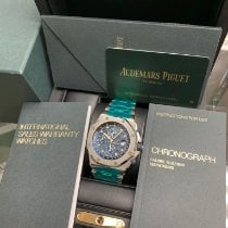 Audemars Piguet Royal Oak Offshore Chronograph Steel 42mm Blue No numerals United States of America, New York, New York