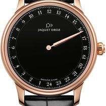 Jaquet-Droz Rose gold Automatic Black 43mm pre-owned Astrale