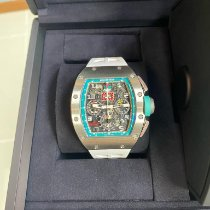 Richard Mille Aur alb Atomat Rm11 10 pieces Limited Yas marina white gold special number folosit